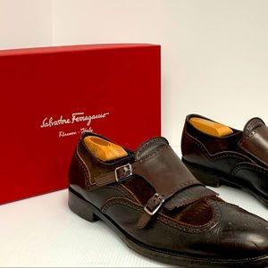 Salvatore Ferragamo Monk Strap loafers